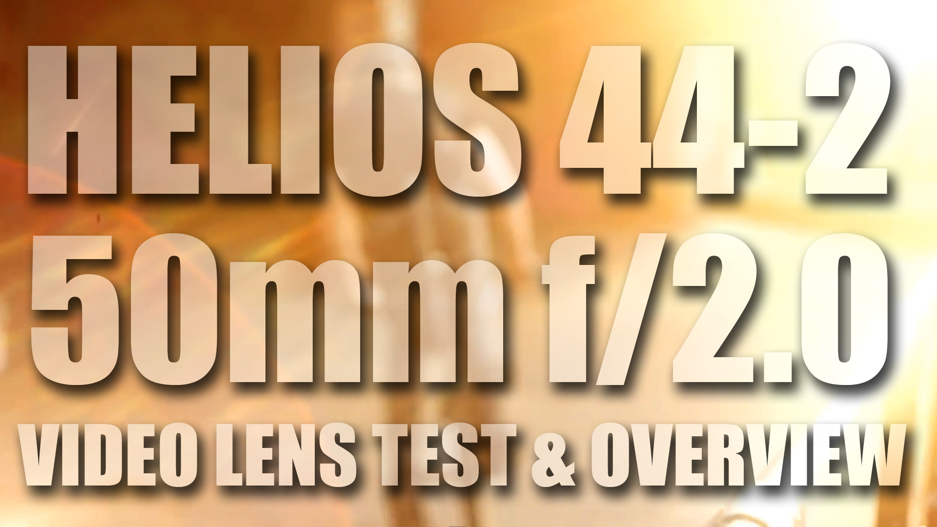 Helios 44-2 58mm f/2 Test Footage | My Favorite Vintage Lens