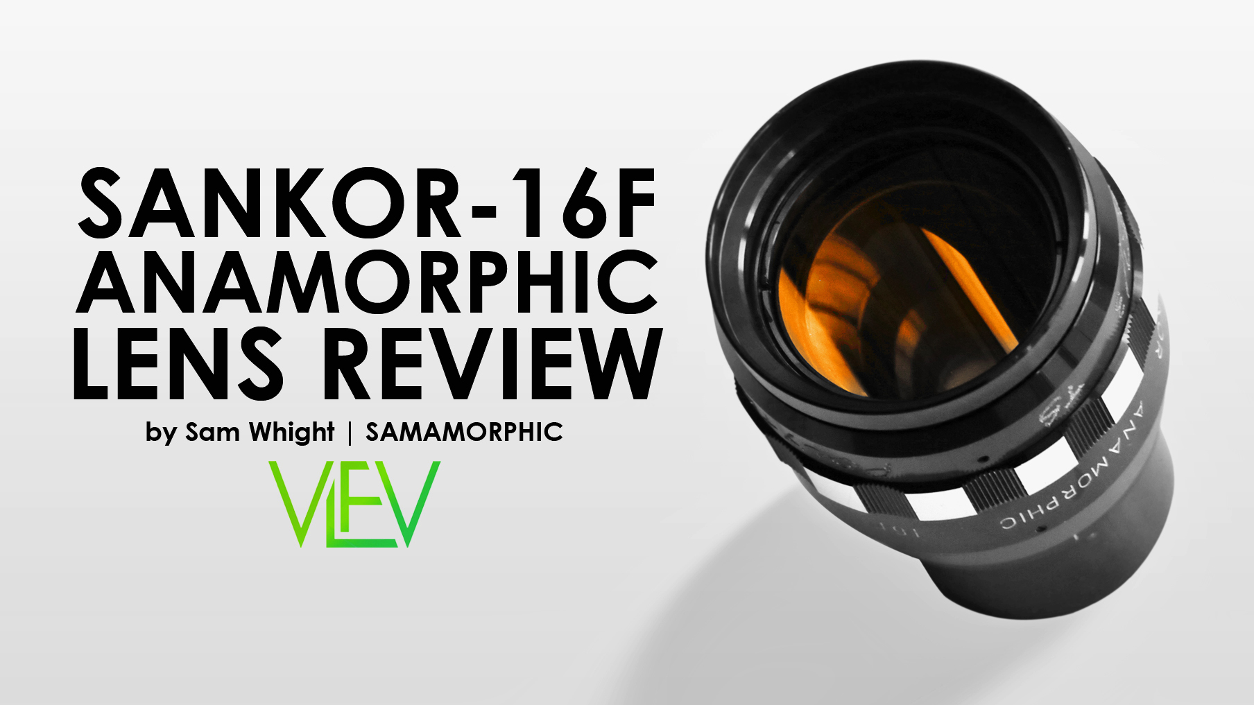 SANKOR 16F Anamorphic Lens REVIEW | Vintage Lenses For Video