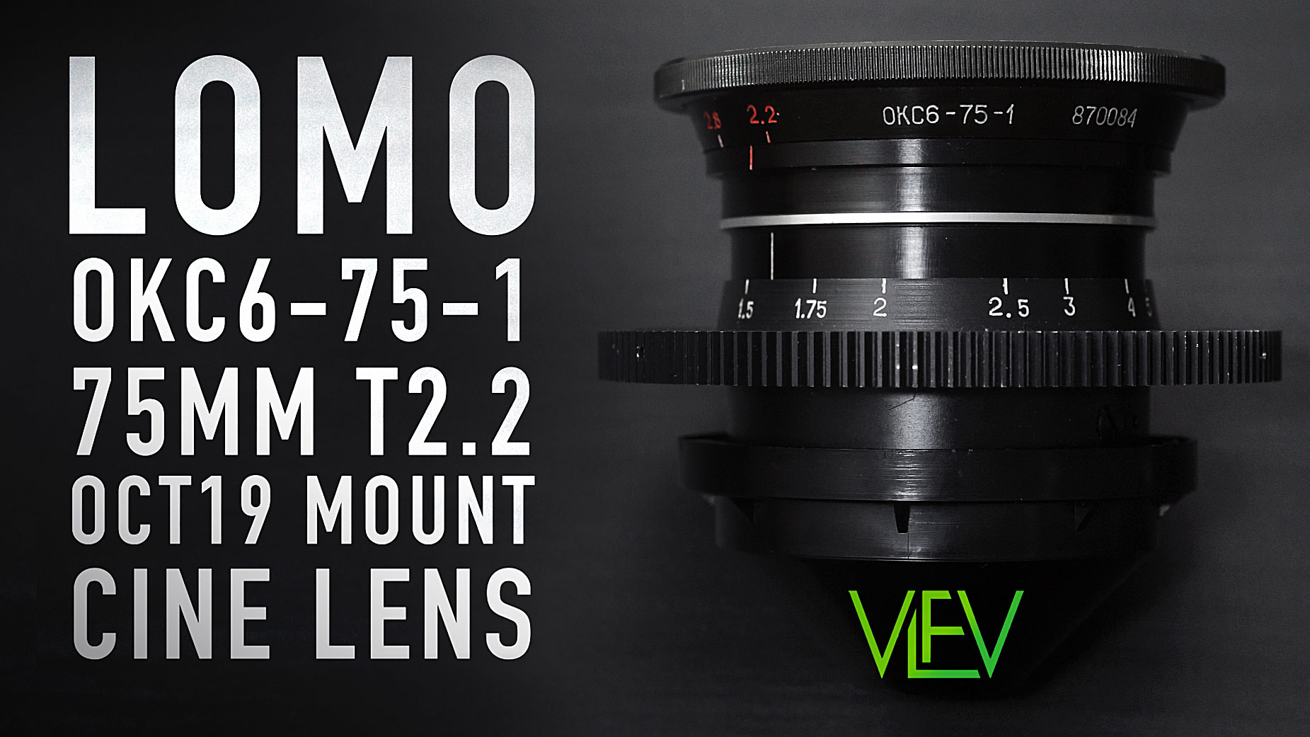 LOMO 75mm T2 2 OCT19 Russian Cine Lens   In-Depth Review